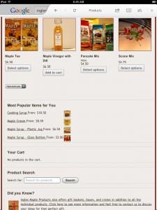 maple syrup theme woocommerce