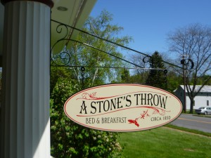 A Stone's Throw Bed & Breakfast